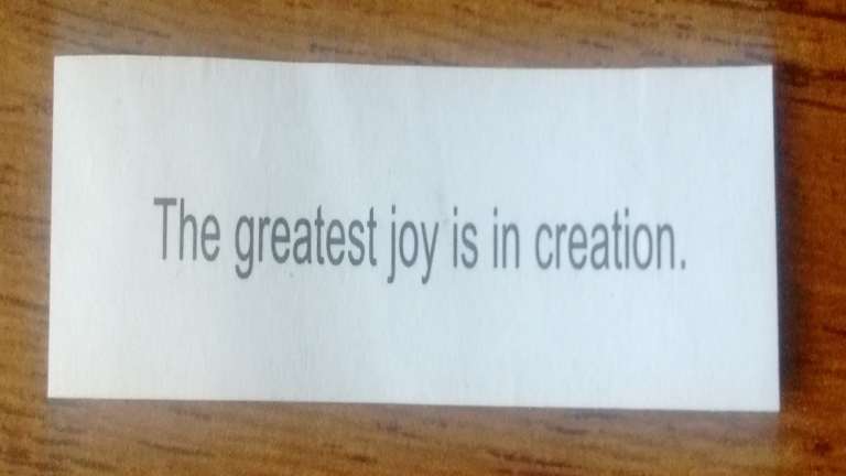 The fortune cookie knows!