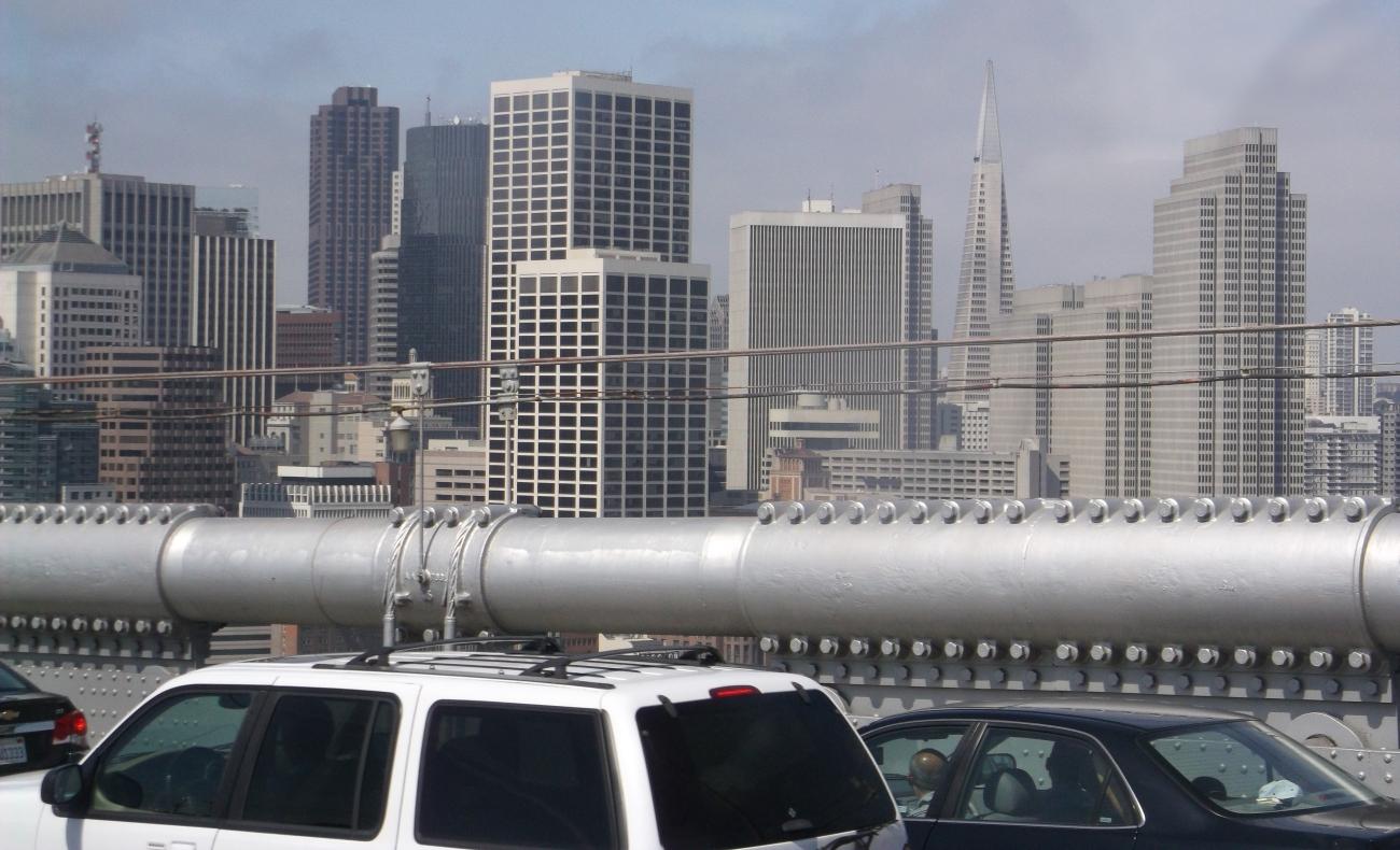 Arriving in SF via Amtrak bus