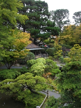 From the top of the Drum Bridge, Japanese Tea Garden