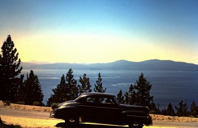 1949 Chevy at Lake Tahoe