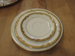 Former Governor Arnold used to eat off these plates!