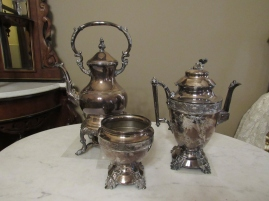 Antique silver ware