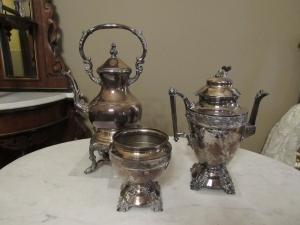 Antique silver ware