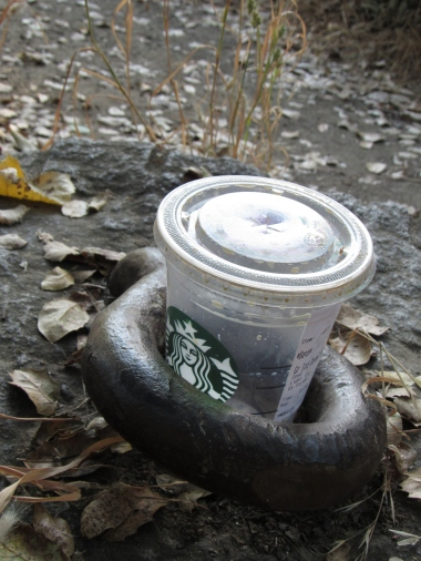 Iron coffee ring