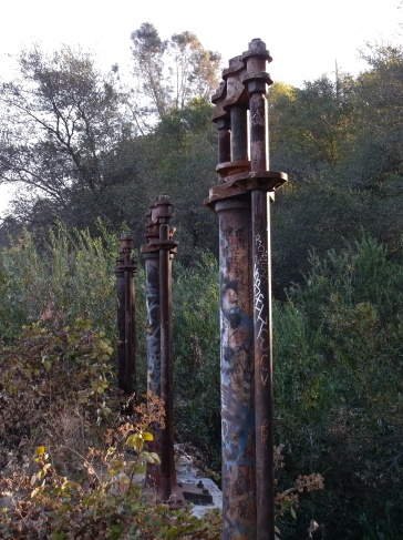 Headgate screws, East Canal