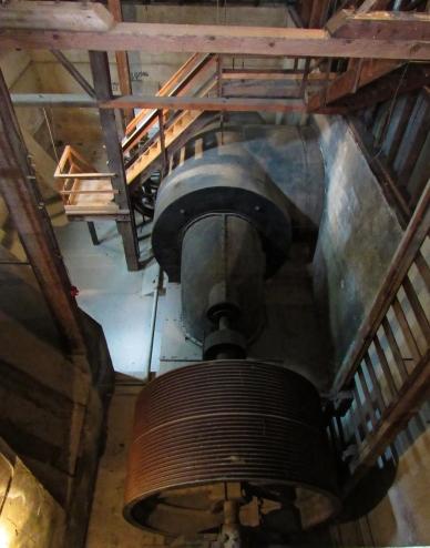 Lower powerhouse turbine