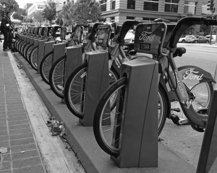 Bikes in San Francisco