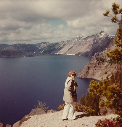 At Crater Lake, Oregon