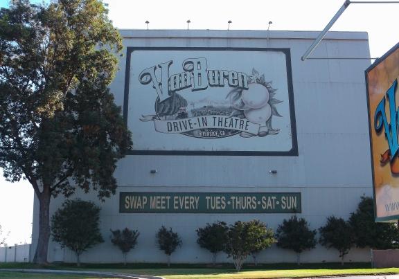 Best of both worlds: flea market plus drive-in theater