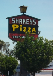 Shakey's are no longer in my neck of the woods, but it was of the first places I ever ate pizza