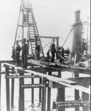 Imperial Beach Pier, 1909
