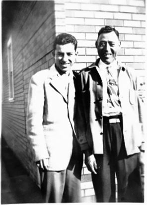 Dad with his father