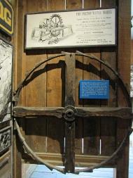 Pelton water wheel display