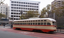 Streetcars are part of the Muni system