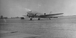 C-47 on the field