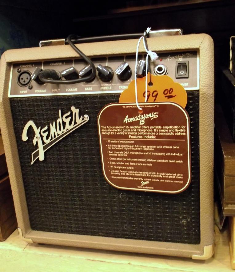 Classic Fender amp