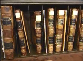 Historic record books