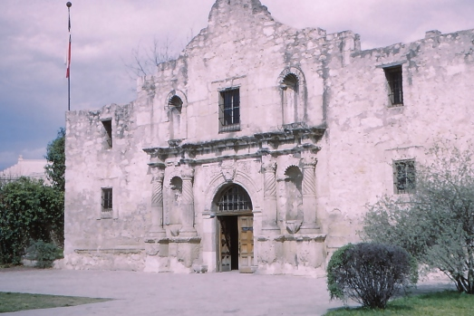 Misión San Antonio de Valero, better known as the Alamo